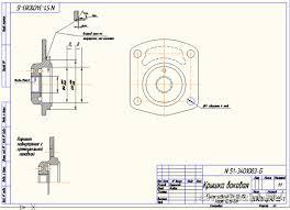 Курсовая работа по технологии машиностроения курсовое  Курсовой проект Восстановление боковой крышки