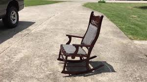 Restoration of Antique Rocking Chair - YouTube