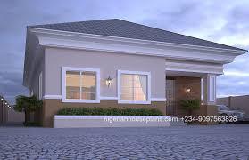 3d bungalow house plans 4 bedroom 4 bedroom bungalow floor