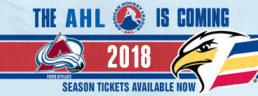 Colorado Eagles Seating Chart Stepping Up To The Ahl Colorado Eagles