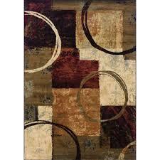 5 x 8 medium brown area rug hudson