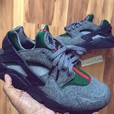 gucci nike shoes. shoes nike gucci sneaker huarache grey sneakers p
