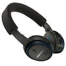 bose headphones blue. brand new bose soundlink on-ear bluetooth wireless black-blue 714675-0010 headphones blue