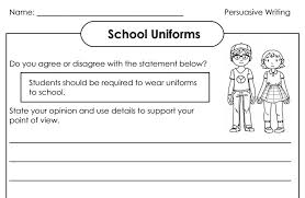 best photos of literature review on school uniforms s  school uniforms essay via persuasive writing worksheets