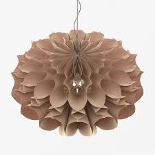paper chandelier 3d model max fbx 2