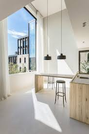 the apartment designed by interior architect arjaan de feyter is located within one of four new