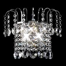 rosina crystal chandelier wall light 0