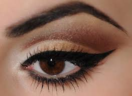 makeup tips for dark brown eyes