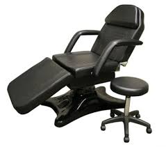 massage chair bed. black hydraulic facial chair with free beauty stool (massage table, chair) massage bed