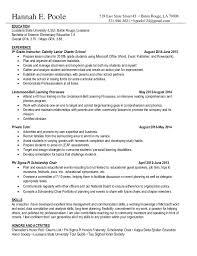 NonProfit Resume. Hannah E. Poole EDUCATION Louisiana State University  (LSU), Baton Rouge, Louisiana