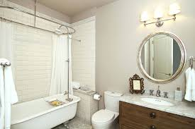 bathtubs curved bath shower curtain rod rail round shower curtain rod bathroom contemporary with beige