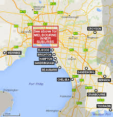If you can't find something, try yandex map of port melbourne or port melbourne map by google. Melbourne Suburbs Map Travel Victoria Accommodation Visitor Guide