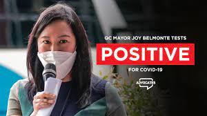 QC Mayor Joy Belmonte tests positive ...