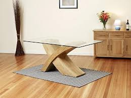 glass dining table with wood base best glass dining table wood base with glass dining room