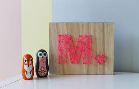 Interior: Inviting Room Decoration Idea With Cute Easy Diy Art Of Symbol  Name On The