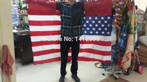 free shipping 90 150cm hanging american flag cape national flag