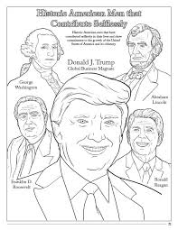 president donald trump vice president mike pence coloring book 8 5 x 11