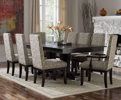 room furniture custom dining contemporary customizable rectangular table set by canadel
