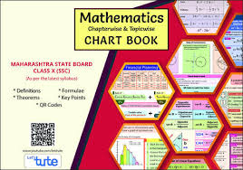 After 10th Courses Chart Mathematics Topicwise Chapterwise Charts For Ssc Maharashtra Board Class 10th Perfect Gifts For