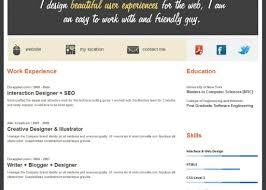 Build A Resume Online Free Write A Cv Online Free Targergolden