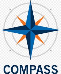 compass rose wind rose wall decal compass