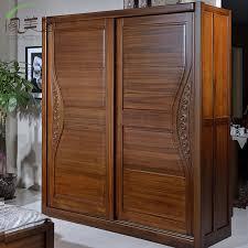 burmese teak wood sliding door wardrobe 2 all solid wood furniture chinese carved bedroom room door sliding door wardrobe lockers child in