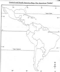 North And South America Blank Map Map Of Latin America Quiz At North And South Coloring Pages