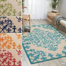 nourison aloha indoor outdoor area rug 3 6 x 5 6