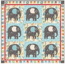 "Quilt Inspiration: Free pattern day: Baby quilts ! (part 1) & A Beary Cute quilt, 44 x 55"", free pattern by Hilary Bobker for Windham  Fabrics (includes teddy bear template) Adamdwight.com"