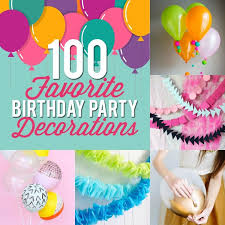100 birthday decoration ideas for a