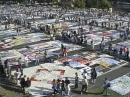 A Day In The Life Of The AIDS Memorial Quilt - YouTube & A Day In The Life Of The AIDS Memorial Quilt Adamdwight.com
