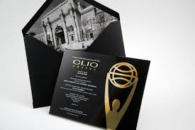Red Bliss Design Invitation For The Clio Awards By Redbliss Design
