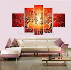 hand made modern abstract oil painting ideas home decoration