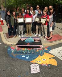 city of hoboken nj 2016 or zimmer hoboken green team congratulate storm drain mural winners