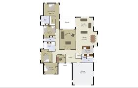 sonata 4 bedroom home plan landmark homes builders nz