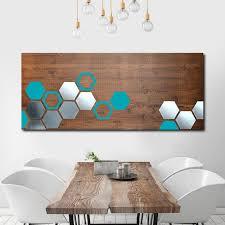 custom made mod honeycomb 48x20 wood wall art metal wall art modern wall on turquoise wood and metal wall art with buy a handmade mod honeycomb 48x20 wood wall art metal wall art