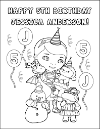 Doc Mcstuffins Coloring Pages Lambie And Dottie Free Printable In Dr