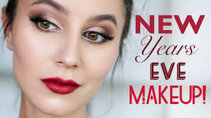 affordable easy new years eve makeup tutorial karima mckimmie