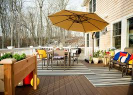 Deck furniture ideas Layout Ideas Outdoor Decorating Ideas And Diys For Back Deck Dining Area The Home Depot Blog Outdoor Decorating Ideas And For Back Deck Dining Space
