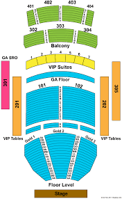 The Joint Hard Rock Las Vegas Seating Chart The Joint Seating Map Related Keywords Suggestions The