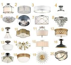 semi flush mount lighting. All You Eight Foot Ceiling-ers Who Have Found Yourself Wondering If \ Semi Flush Mount Lighting