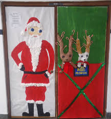 Funny Christmas Door Decorating Ideas Decorations For