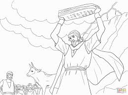 Moses Breaking The Tablets Of Law