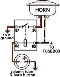 6 volt horn relay wiring diagram 6 volt car horn \u2022 wiring diagrams 4 pin horn relay wiring at Bosch Horn Relay Wiring Diagram