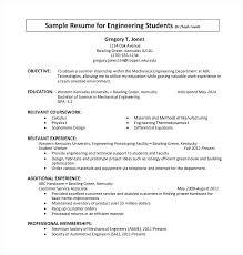 Resume Sample For Internship Dew Drops