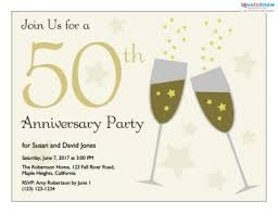Free Printable 25th Anniversary Invitation Cards Download Them Or