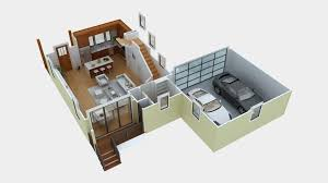 3d floor plan software free with minimalist kitchen design for 3d