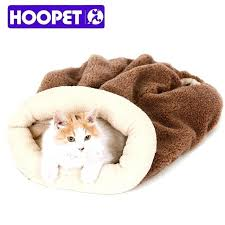 self warming cat bed pet cat puppy bed self warming soft sleeping bag cuddly cave snuggle
