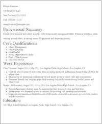 Example Of Resume For College Students With No Experience – Best ...