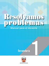 Unknown 24 de septiembre de 2019 1823. Resolvamos Problemas Matematica 1 Manual Docente 2021 Peru